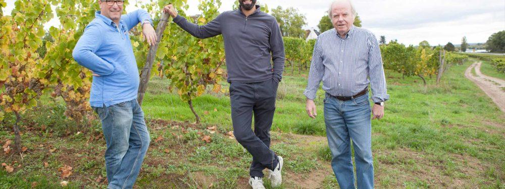 Besuch auf dem Weingut