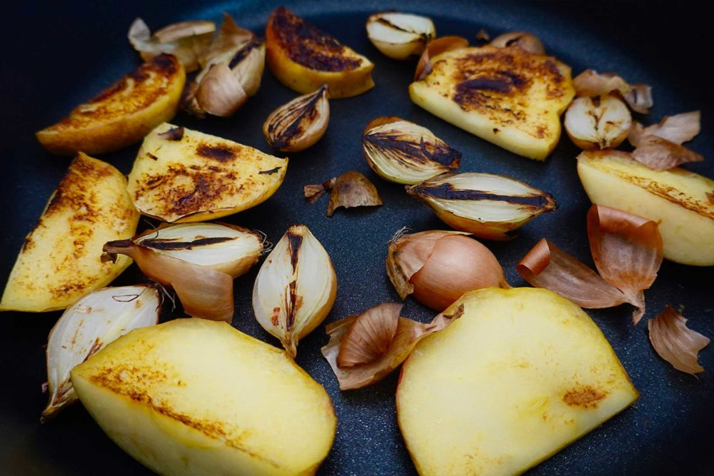 Gemüseaufstrisch mit Apfel-Maggi vom Milk. Food Lab.