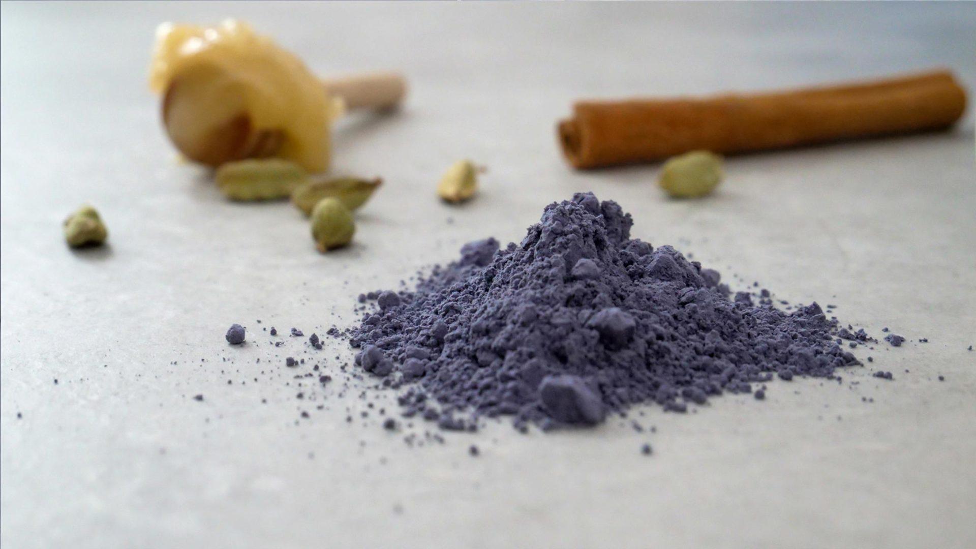 Blaue Klitorie Pulver