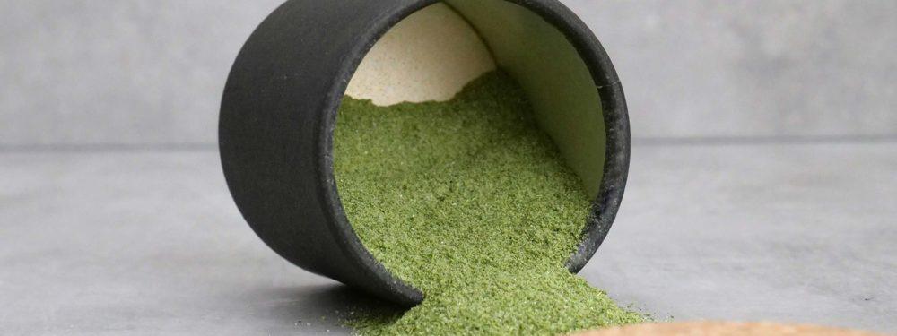 Das FGS Matcha Pulver ist hochwertig, hat eine besonderes Aroma und steht für eine eigene Kultur.