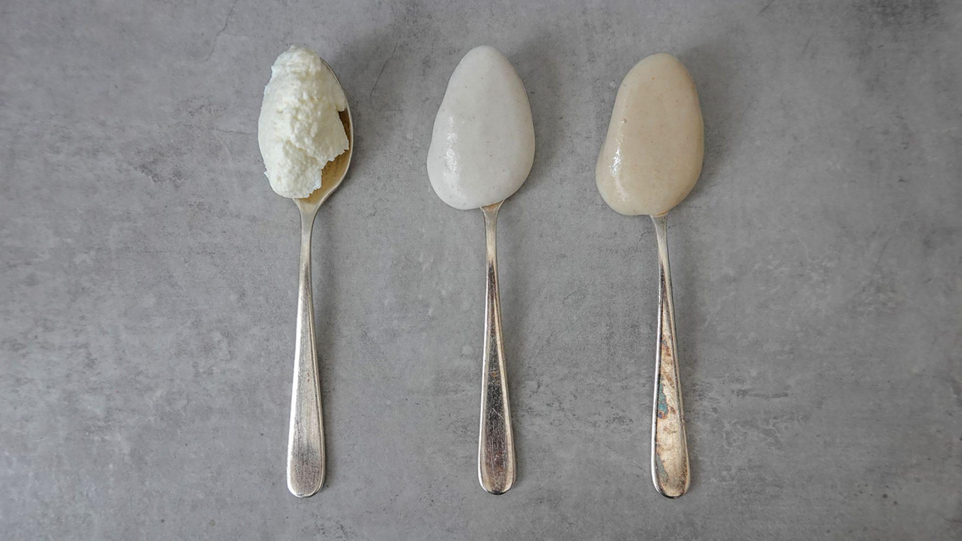 Skyr, Kokos- und Haferjoghurt