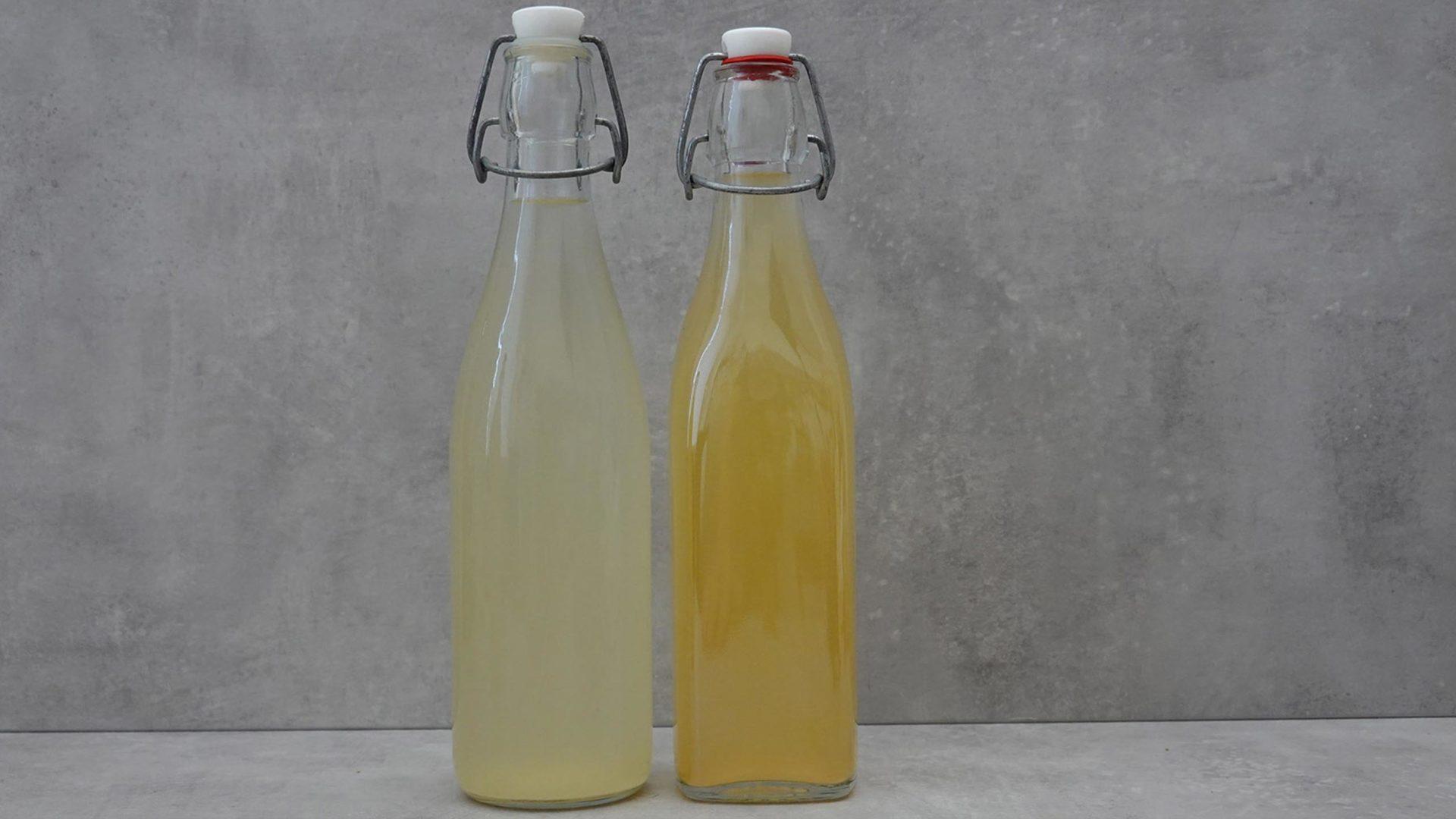 Zwei Bügelflaschen Ginger Beer