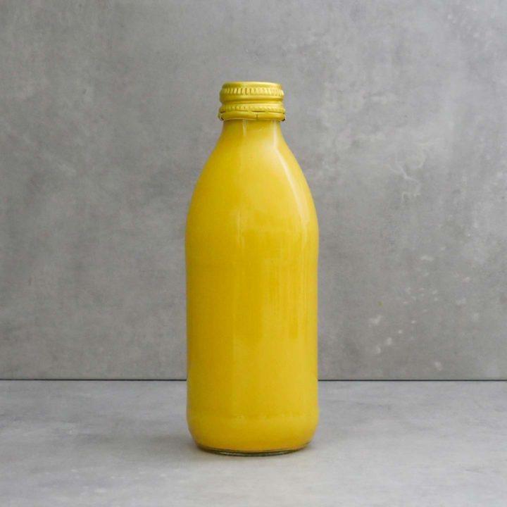 Die Milk. Food Lab Golden Milk strahlt natürlich schön.