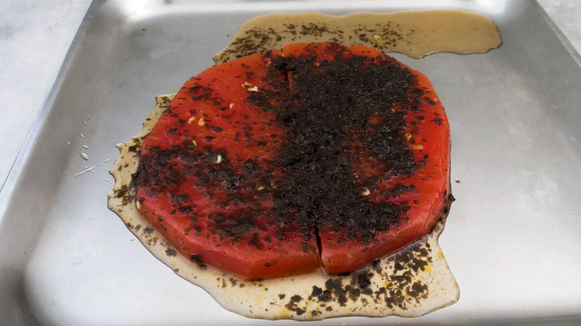 Beef Jerky aus Wassermelone