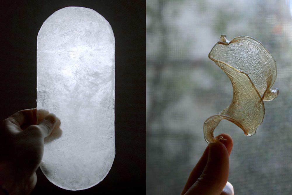 MILK MaterialLab Agar Plasticity Amam