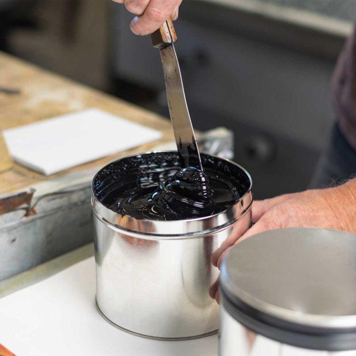 MILK MaterialLab Algae Offset Ink Cast Iron