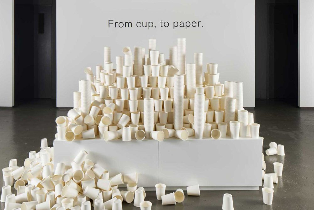 MILK MaterialLab Coffee Cup Paper G F Smith