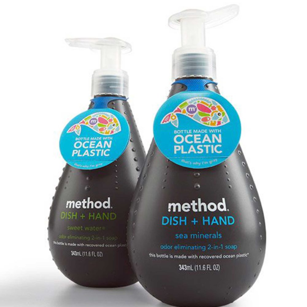 MILK MaterialLab Ocean Plastik Soap Bottle Method