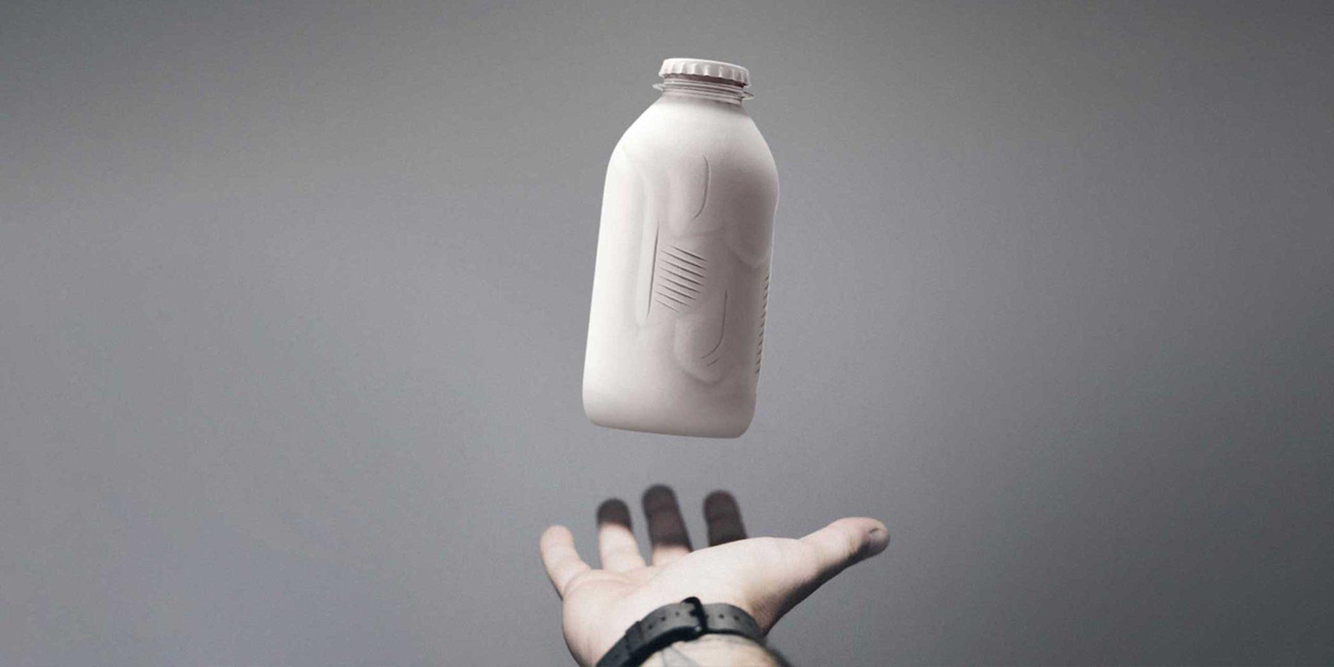 MILK MaterialLab Paper Bottle Paboco