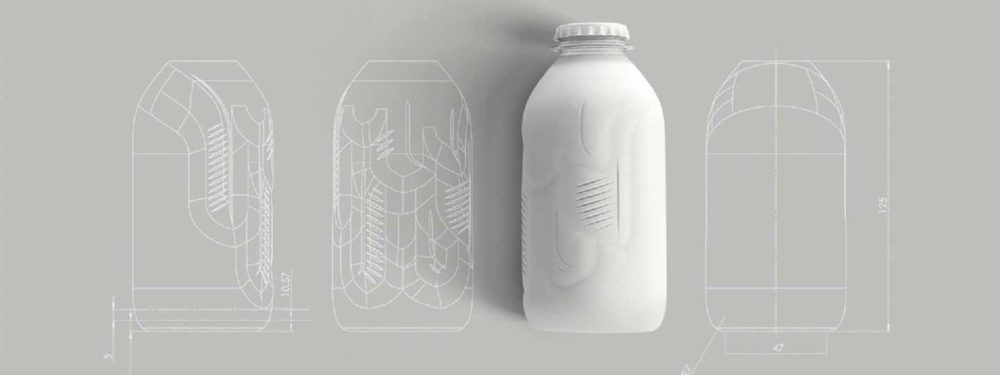MILK MaterialLab Paper Bottle Paboco