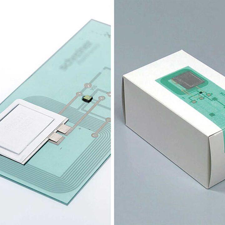 MILK MaterialLab RFID Sensor Schreiner Group