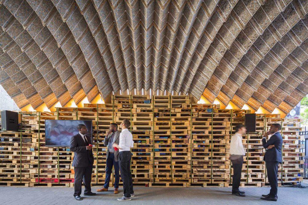 MILK MaterialLab Waste Vault Pavilion ETH Zuerich