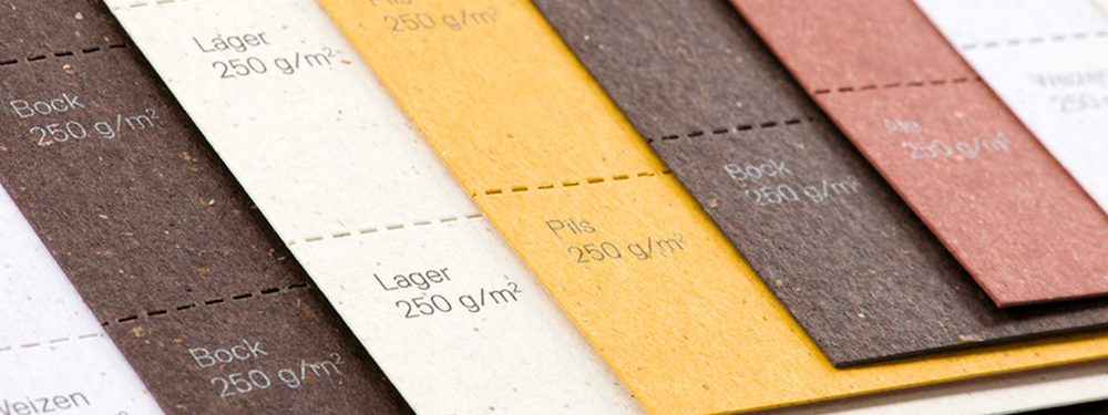 MILK MaterialLab Bierpapier Gmund