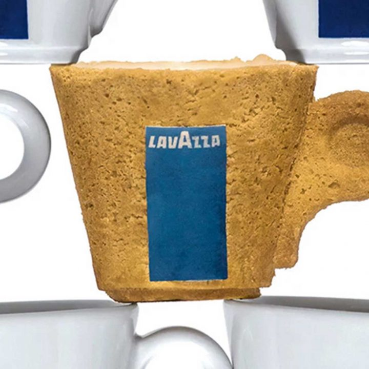 MILK MaterialLab Enrique Sardi for LAVAZZA Cookiecup