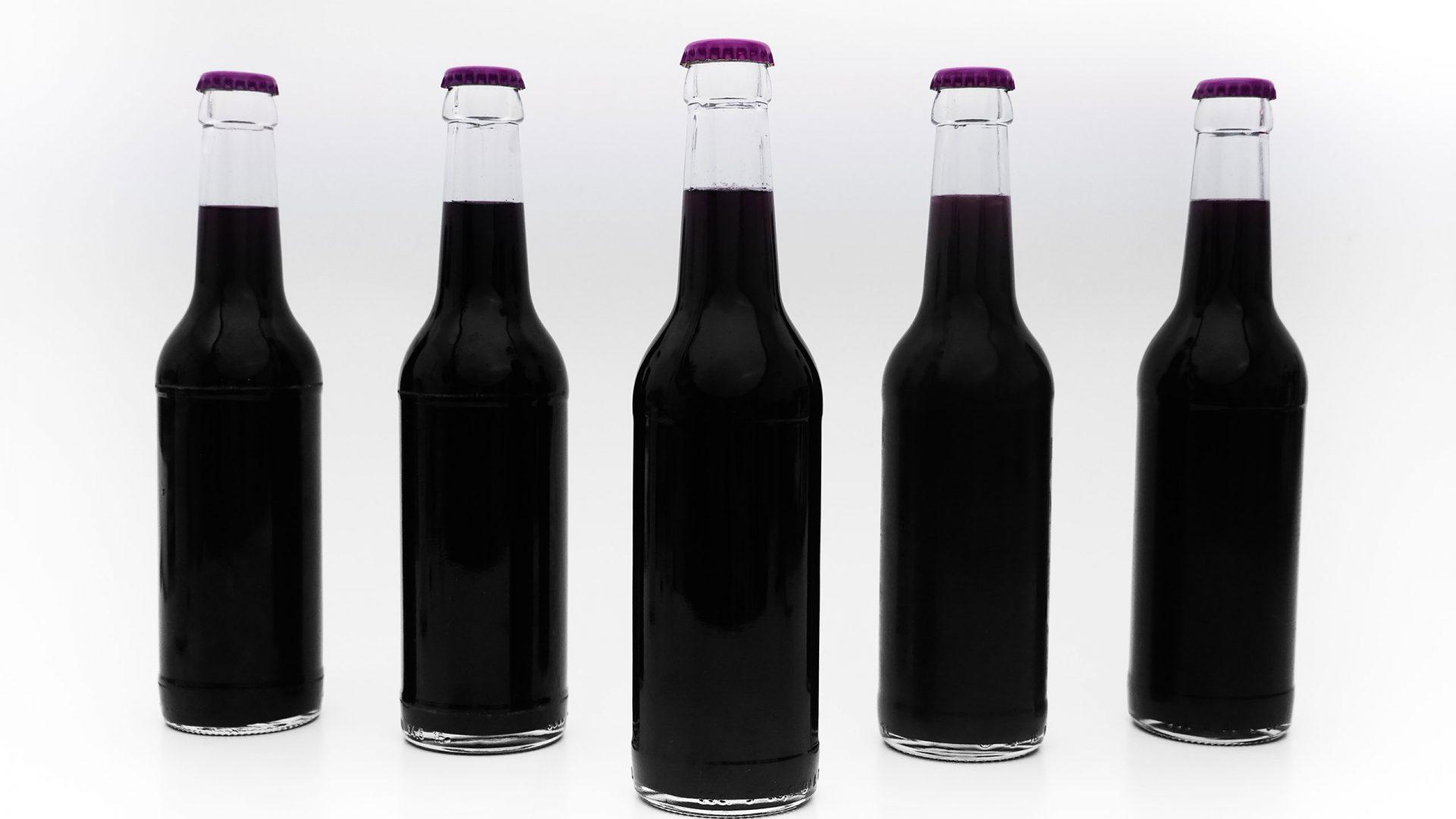 5 Kohla Flaschen