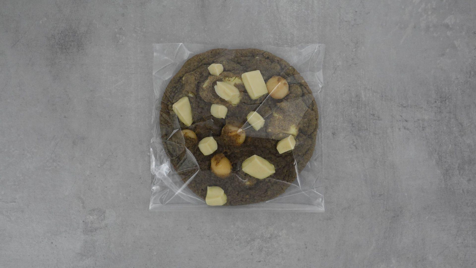Vanilla-Sky-Cookie in Plastik verpackt